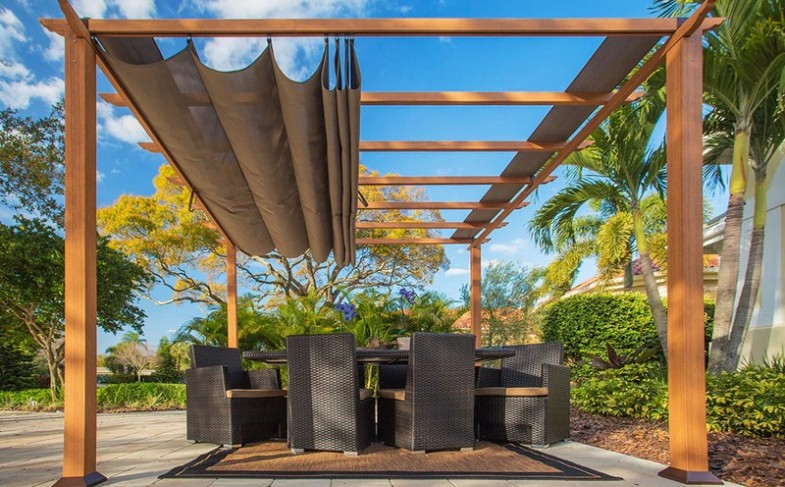5 Ways to add shades to a decking structure